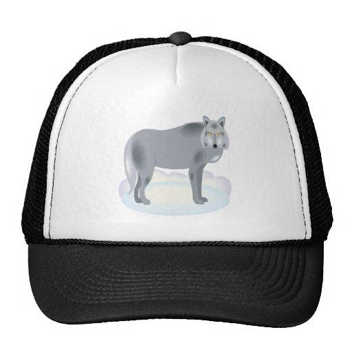 Wolf Trucker Hats