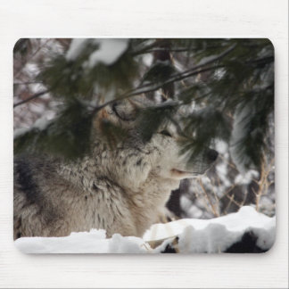 Wolf Head Mouse Mat