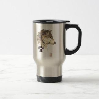 Wolf Head Profile Mug