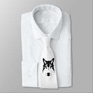 Wolf head tie