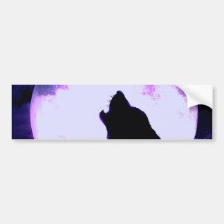 Wolf Howl Bumper Sticker