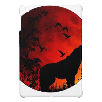 wolf howl iPad mini case