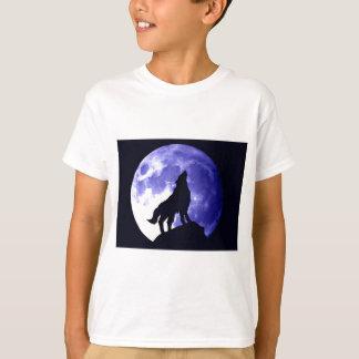 Wolf Howling at Moon Shirts
