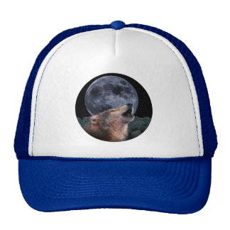 Wolf Howling at the Full Moon - Multi-Products-02 Cap