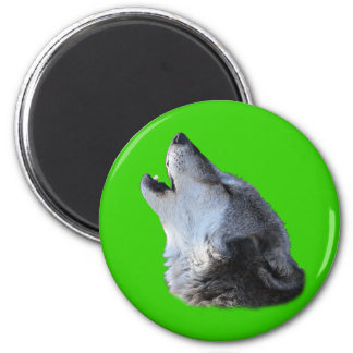 Wolf Howling Magnets