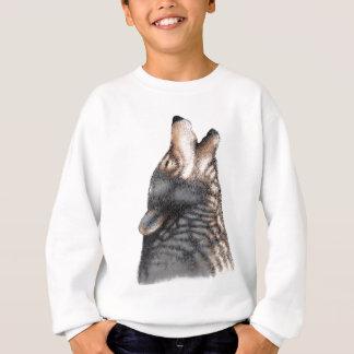 Wolf howling sweatshirt