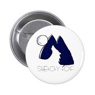 Wolf Icon Button