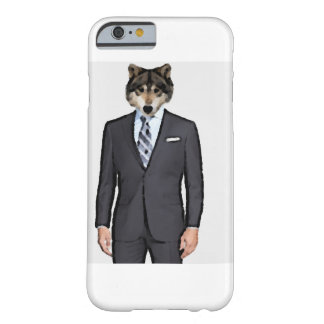 Wolf in a Suit Barely There iPhone 6 Case