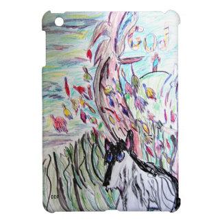 Wolf in  fall iPad mini case