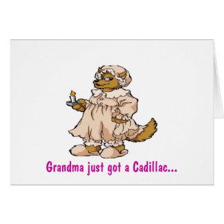 Wolf in Grandma's Clothing Greeting Card