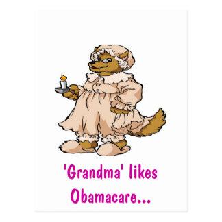 Wolf in Grandma's Clothing Postcard