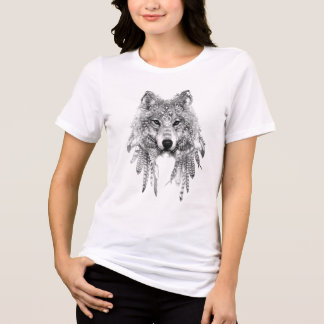 Wolf In Indigenous Apparel Relaxed Fit Jersey Tee