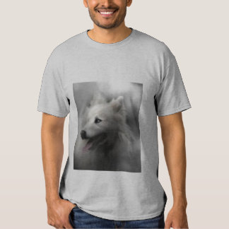 wolf in mist t shirts