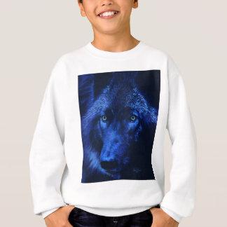 Wolf in moonlight (b) sweatshirt