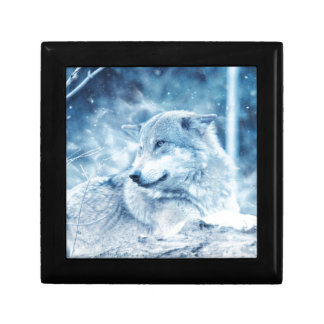 Wolf In The Snow Gift Box