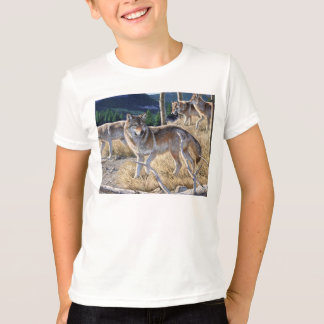 Wolf in winter forest T-Shirt