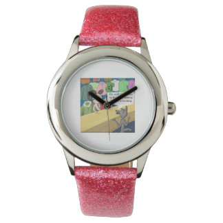 Wolf In Wolf's Clothing Funny Womens Watch