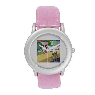 Wolf In Wolf's Clothing Funny Womens Watch Wrist Watch