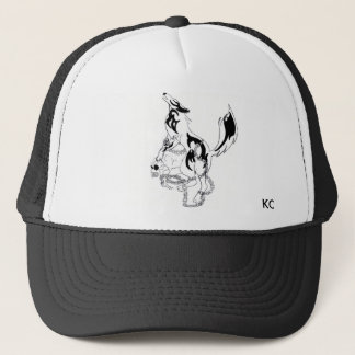 Wolf KC (kirie cloths) Trucker Hat
