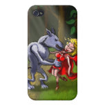 Wolf Kissing Red Riding Hood iPhone 4/4S Cases
