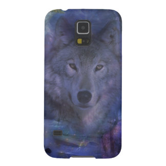 Wolf - Leader of the Pack Cases For Galaxy S5