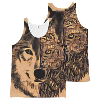 Wolf Life All-Over Print Tank Top