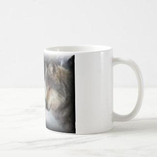 Wolf Love Basic White Mug