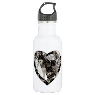 Wolf Lover 532 Ml Water Bottle