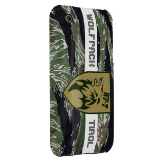 Wolf luggage Tyrol iphone cover team patch tigerst iPhone 3 Covers