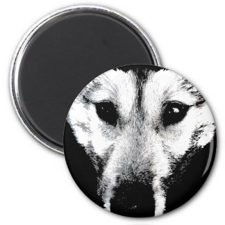 Wolf Magnet Arctic Wolf Pup Fridge Magnets & Gift
