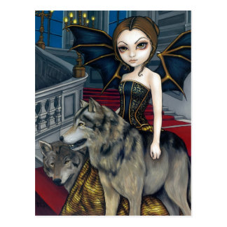 Wolf Manor Postcard