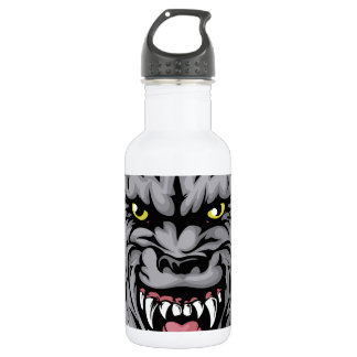 Wolf mascot character 532 ml water bottle