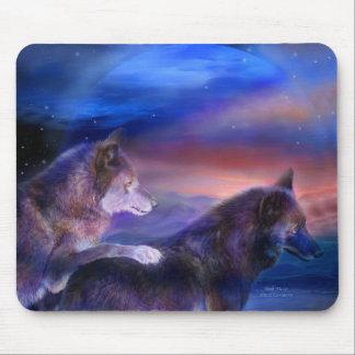 Wolf Mates Art Mousepad