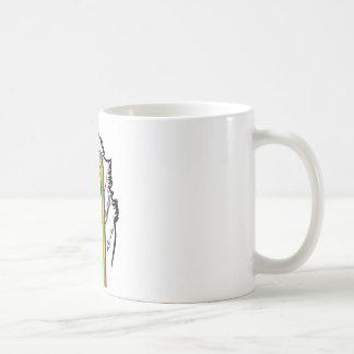 Wolf MEME Basic White Mug