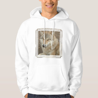 Wolf Men's Hooded Sweatshirt