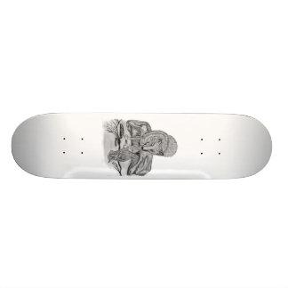 Wolf mit Rabe Personalisierte Skateboards