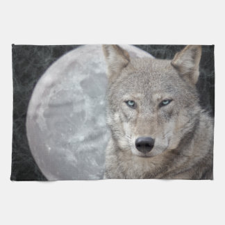 Wolf Moon Kitchen Towel