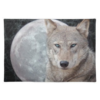 Wolf Moon Placemat
