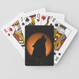 Wolf Moon Playing Cards