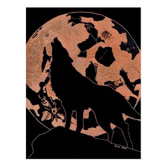 Wolf Moon Postcard