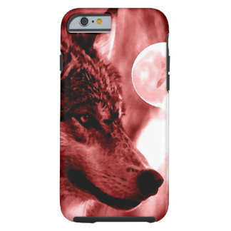 Wolf & Moon Tough iPhone 6 Case