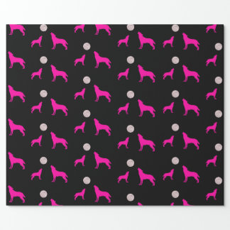 Wolf Moon Wrapping Paper