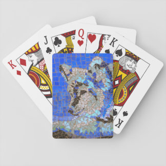 Wolf Mosaic Playing Cards