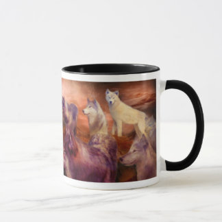Wolf Mountain Art Mug