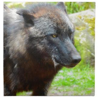 Wolf Napkin