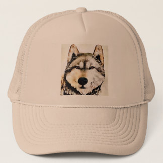Wolf Nature Trucker Hat