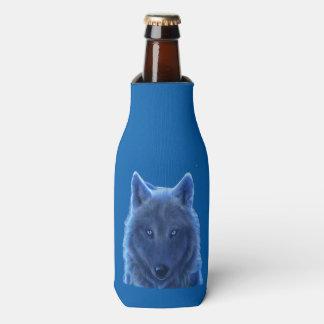 Wolf neon blue