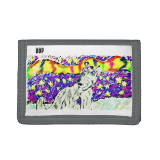 wolf Northem light Trifold Wallet