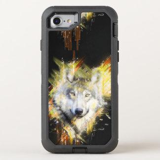 Wolf OtterBox Defender iPhone 8/7 Case