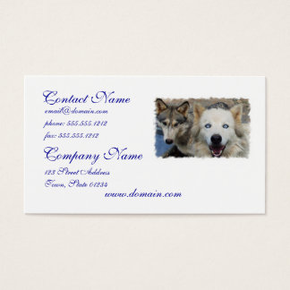 Wolf Pack Business Card